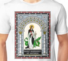 ST MARGARET OF ANTIOCH (ST MARINA AND ST MAGARITHA) under STAINED GLASS Unisex T-Shirt