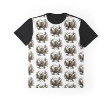 Jules Verne Inspired Octopus Graphic T-Shirt