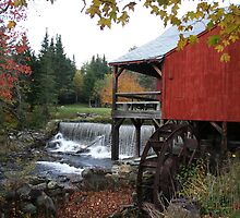 Old Mill  by Linda Jackson