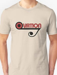 Ovation Guitars Music Note WBR  T-Shirt