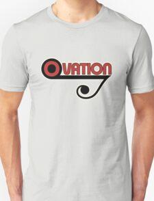 Ovation Guitars Music Note WBR  T-Shirt