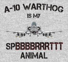 A-10 WARTHOG - Spirit Animal-b by GUS3141592