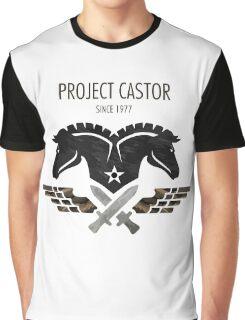 Project Castor Horse Graphic T-Shirt