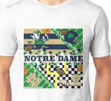 NOTRE DAME COLLAGE Unisex T-Shirt