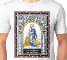 ST MARK THE APOSTLE under STAINED GLASS Unisex T-Shirt