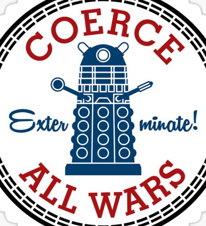 Coerce All Wars (clean) Sticker