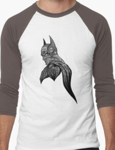 It's Not Who I Am Underneath... (Grayscale) Men's Baseball ¾ T-Shirt