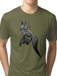 It's Not Who I Am Underneath... (Grayscale) Tri-blend T-Shirt