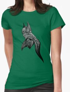 It's Not Who I Am Underneath... (Grayscale) Womens Fitted T-Shirt