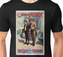 Performing Arts Posters The singing comedian Andrew Mack in the The last of the Rohans by Ramsay Morris 1112 Unisex T-Shirt