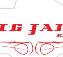 fig jams vs ute Sticker