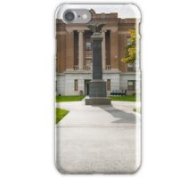 Sheridan County, Kansas, Courthouse iPhone Case/Skin