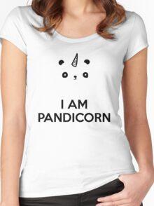 I Am PandiCorn Women's Fitted Scoop T-Shirt