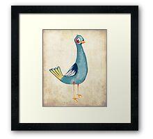 Cocky Bird Framed Print