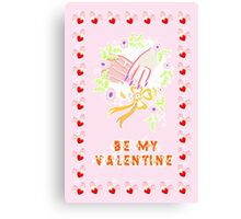 Valentine day Canvas Print