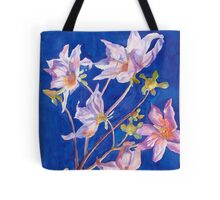 Wild Dahlia in Watercolor  Tote Bag