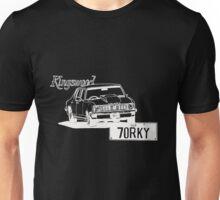 70RKY Kingswood - WHITE Unisex T-Shirt