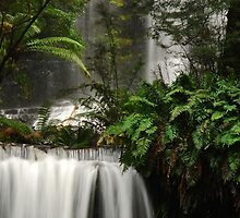 Russell Falls Mount Field National Park by Imi Koetz