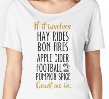 Count Me In Women's Relaxed Fit T-Shirt