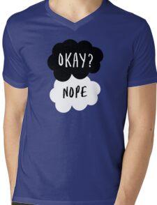 No, it is NOT OKAY Mens V-Neck T-Shirt