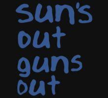 Sun's Out Guns Out Shirt - 22 Jumpstreet Channing Tatum Jonah Hill T-Shirt