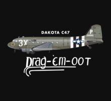 DAKOTA C47 SKYTRAIN - DRAG 'EM OOT by PARAJUMPER