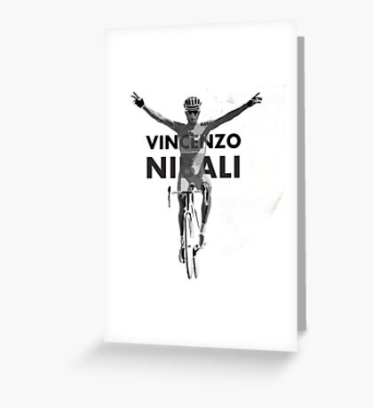 Vincenzo B&W Greeting Card
