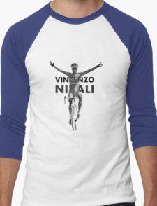 Vincenzo B&W Men's Baseball ¾ T-Shirt