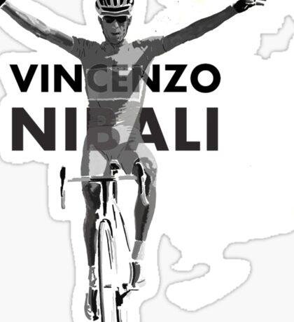 Vincenzo B&W Sticker