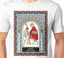 ST MATHILDA under STAINED GLASS Unisex T-Shirt