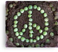 ~ Peas on Earth ~ Canvas Print