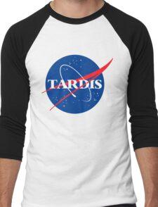 Tardis Nasa logo Doctor Who Men's Baseball ¾ T-Shirt