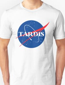 Tardis Nasa logo Doctor Who Unisex T-Shirt