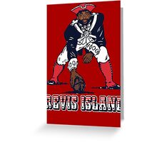 Darrelle Revis - Revis Island New England Patriots Greeting Card