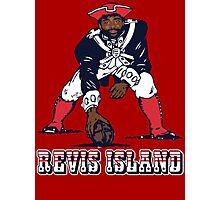Darrelle Revis - Revis Island New England Patriots Photographic Print