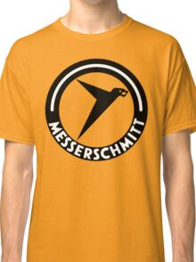 Messerschmitt Aircraft Logo -Black- (No Label) Classic T-Shirt
