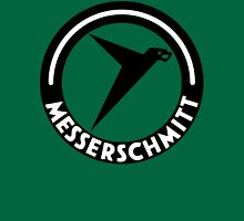 Messerschmitt Aircraft Logo -Black- (No Label) Unisex T-Shirt