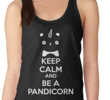 Keep Calm And Be A PandiCorn Women's Tank Top