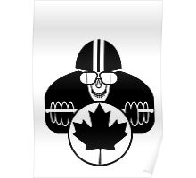 CANADIANcaferacer Poster