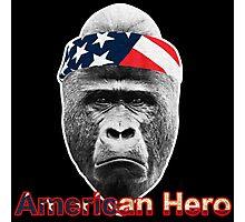 American Hero : Natural Born Hero Photographic Print