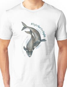 Southern Right Whales - Fight for the Bight Unisex T-Shirt
