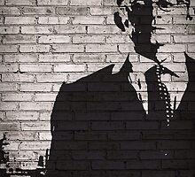 Person of Interest - Mr. Finch Graffiti style by CyberWingman