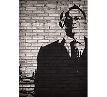 Person of Interest - Mr. Finch Graffiti style Photographic Print