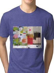 Abstract talk 006 Tri-blend T-Shirt