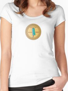 In H.E.L.P.eR. We Trust Venture Bros. Women's Fitted Scoop T-Shirt