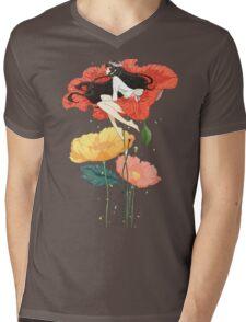 Flower Girl  Mens V-Neck T-Shirt