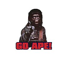 Planet of apes - GO APE Photographic Print