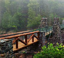 The Old Swinging Bridge Restored by SandraNightski