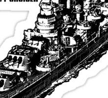 USS Toledo (CA-133) Sticker