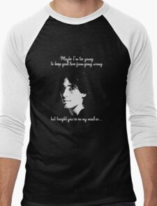 Jeff Buckley Men's Baseball ¾ T-Shirt